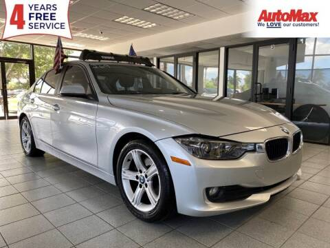 2015 BMW 3 Series for sale at Auto Max in Hollywood FL