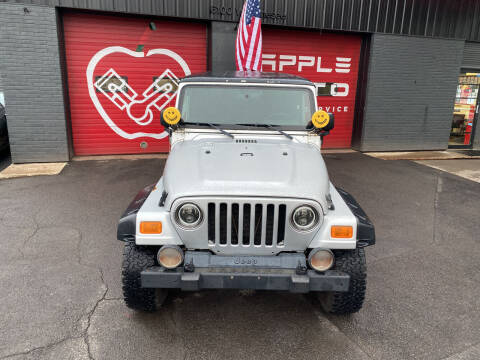 2006 Jeep Wrangler for sale at Apple Auto Sales Inc in Camillus NY