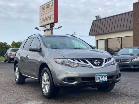 2011 Nissan Murano for sale at RAVMOTORS in Burnsville MN