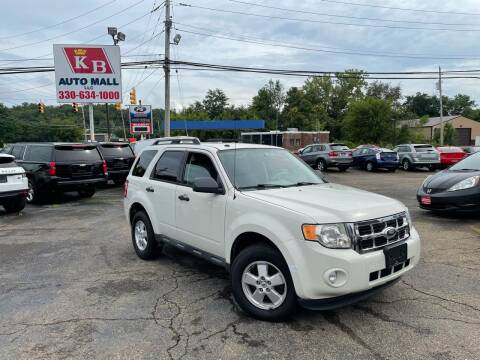 2010 Ford Escape for sale at KB Auto Mall LLC in Akron OH