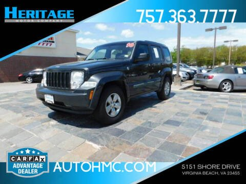 2010 Jeep Liberty for sale at Heritage Motor Company in Virginia Beach VA