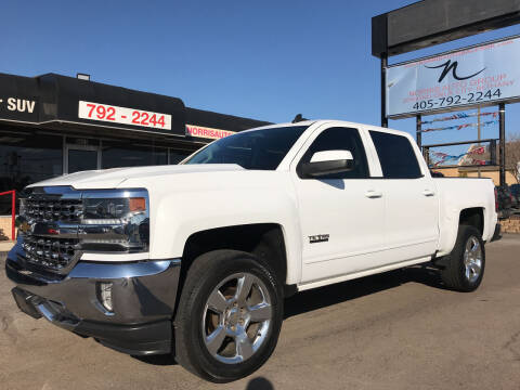 2017 Chevrolet Silverado 1500 for sale at NORRIS AUTO SALES in Oklahoma City OK