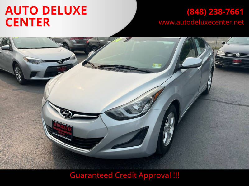 2014 Hyundai Elantra for sale at AUTO DELUXE CENTER in Toms River NJ