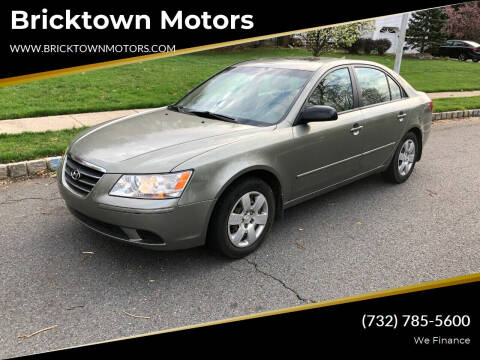 2009 Hyundai Sonata for sale at Bricktown Motors in Brick NJ
