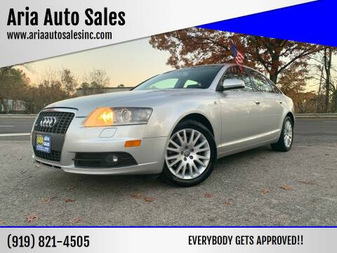 2008 Audi A6 for sale at ARIA  AUTO  SALES in Raleigh NC