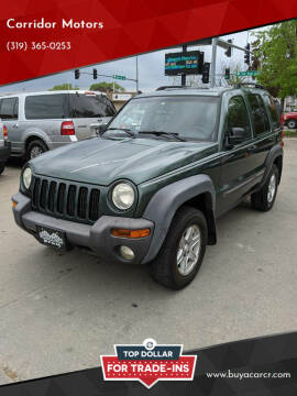 2002 Jeep Liberty for sale at Corridor Motors in Cedar Rapids IA
