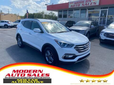 2017 Hyundai Santa Fe Sport for sale at Modern Auto Sales in Hollywood FL