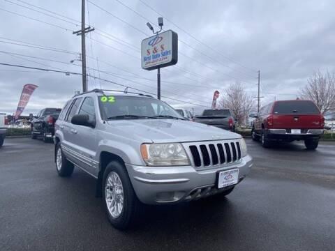 2002 Jeep Grand Cherokee for sale at S&S Best Auto Sales LLC in Auburn WA