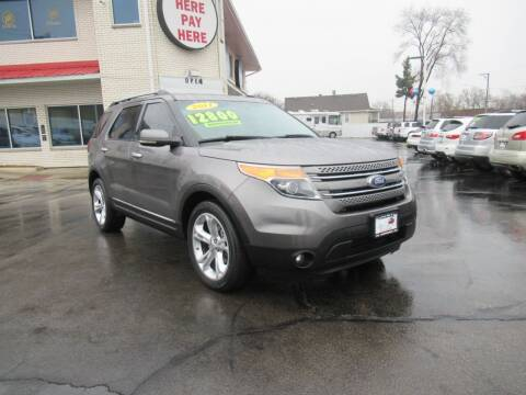 2011 Ford Explorer for sale at Auto Land Inc in Crest Hill IL