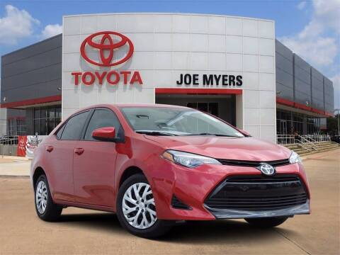 2018 Toyota Corolla for sale at Joe Myers Toyota PreOwned in Houston TX
