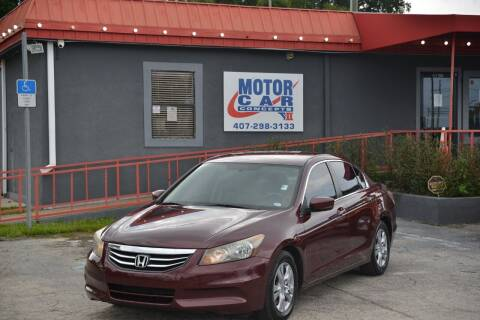 2012 Honda Accord for sale at Motor Car Concepts II - Kirkman Location in Orlando FL
