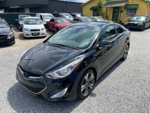 2014 Hyundai Elantra Coupe for sale at Velocity Autos in Winter Park FL