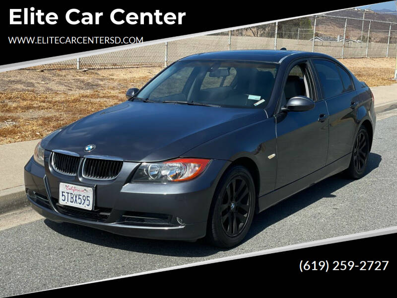 2006 BMW 3 Series for sale at Elite Car Center in Spring Valley CA