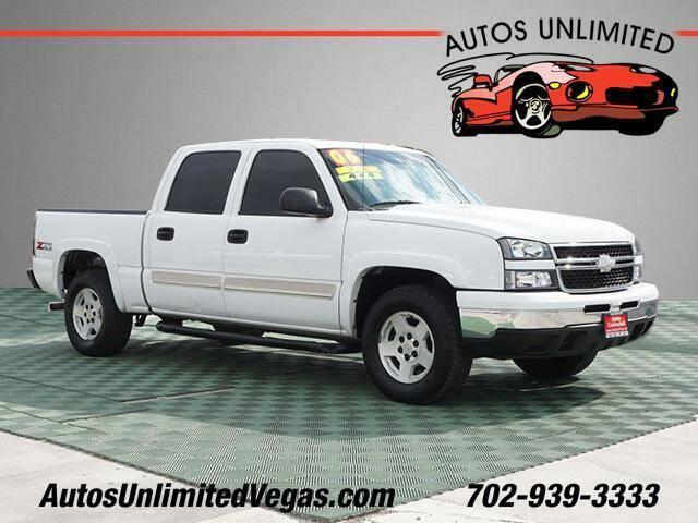 2006 Chevrolet Silverado 1500 for sale at Autos Unlimited in Las Vegas NV