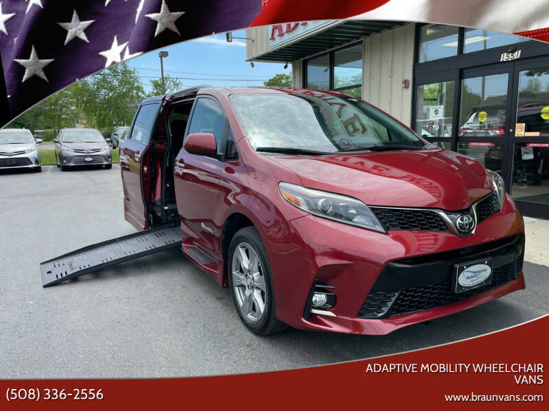 2018 Toyota Sienna for sale at Adaptive Mobility Wheelchair Vans in Seekonk MA