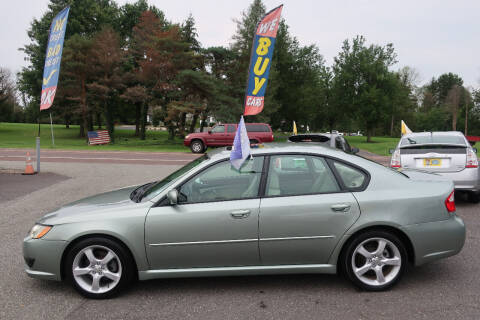 2009 Subaru Legacy for sale at GEG Automotive in Gilbertsville PA