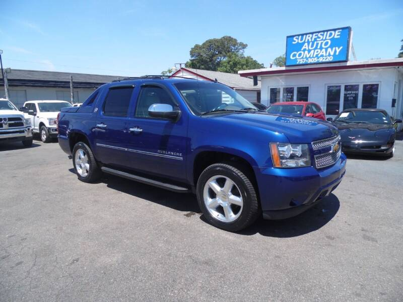 2013 Chevrolet Avalanche for sale at Surfside Auto Company in Norfolk VA