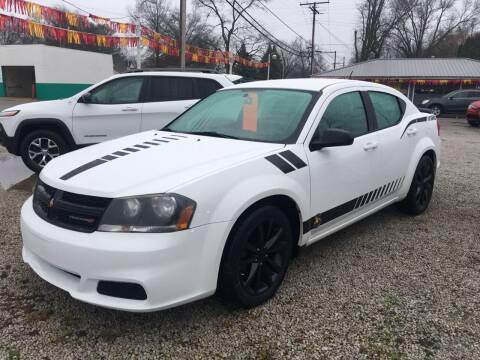 2014 Dodge Avenger for sale at Antique Motors in Plymouth IN