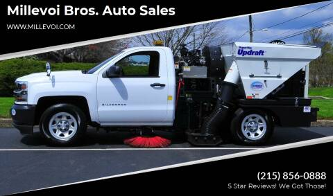 2018 Chevrolet Silverado 1500 for sale at Millevoi Bros. Auto Sales in Philadelphia PA