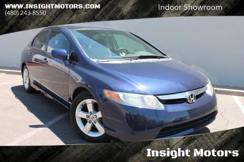 2007 Honda Civic for sale at Insight Motors in Tempe AZ