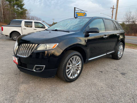 2011 Lincoln MKX for sale at Dubes Auto Sales in Lewiston ME