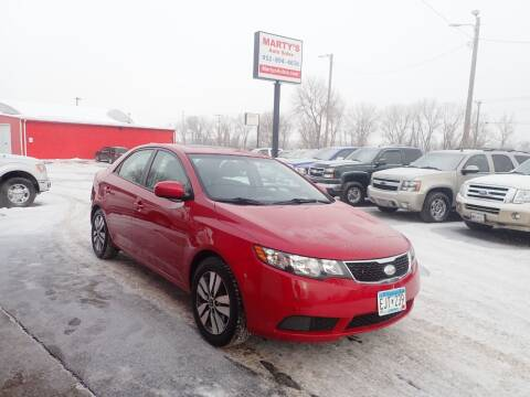 2013 Kia Forte for sale at Marty's Auto Sales in Savage MN