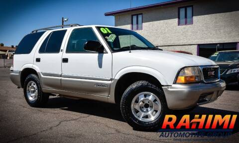 2001 GMC Jimmy for sale at Rahimi Automotive Group in Yuma AZ