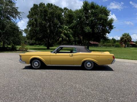 1971 Lincoln Continental for sale at P J'S AUTO WORLD-CLASSICS in Clearwater FL
