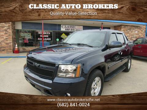 2007 Chevrolet Avalanche for sale at Classic Auto Brokers in Haltom City TX