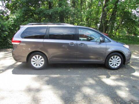 2011 Toyota Sienna for sale at Nutmeg Auto Wholesalers Inc in East Hartford CT