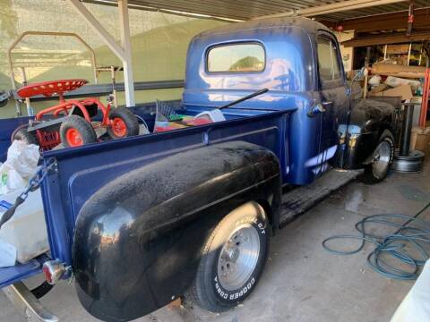 1950 Ford F-100 for sale at AZ Classic Rides in Scottsdale AZ
