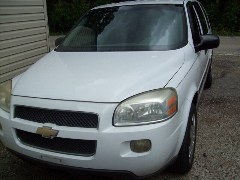 2006 Chevrolet Uplander for sale at Edgewater of Mundelein Inc in Wauconda IL
