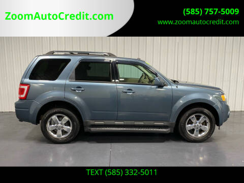 2010 Ford Escape for sale at ZoomAutoCredit.com in Elba NY