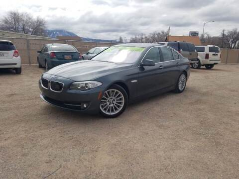 2011 BMW 5 Series for sale at Canyon View Auto Sales in Cedar City UT