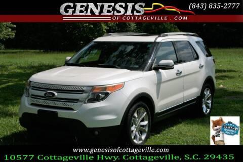 2013 Ford Explorer for sale at Genesis Of Cottageville in Cottageville SC