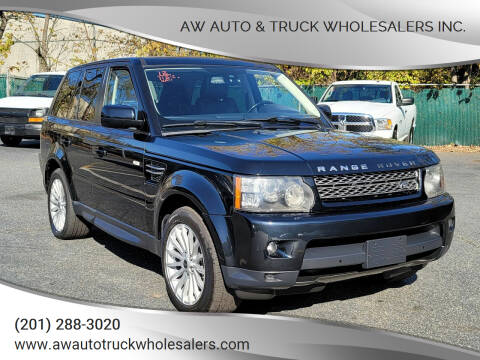 2012 Land Rover Range Rover Sport for sale at AW Auto & Truck Wholesalers  Inc. in Hasbrouck Heights NJ