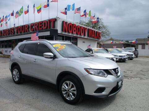 2016 Nissan Rogue for sale at Giant Auto Mart 2 in Houston TX