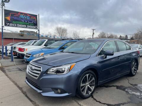 2016 Subaru Legacy for sale at AWD Denver Automotive LLC in Englewood CO