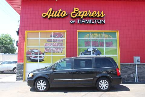 2013 Chrysler Town and Country for sale at AUTO EXPRESS OF HAMILTON LLC in Hamilton OH