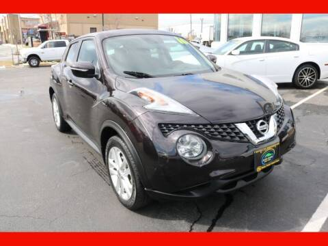 2016 Nissan JUKE for sale at AUTO POINT USED CARS in Rosedale MD