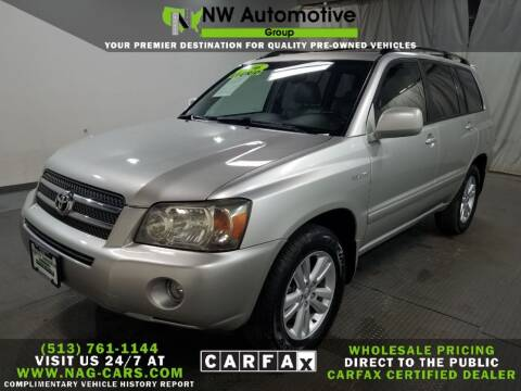 2006 Toyota Highlander Hybrid for sale at NW Automotive Group in Cincinnati OH