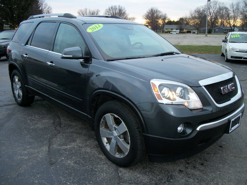 2012 GMC Acadia for sale at USED CAR FACTORY in Janesville WI