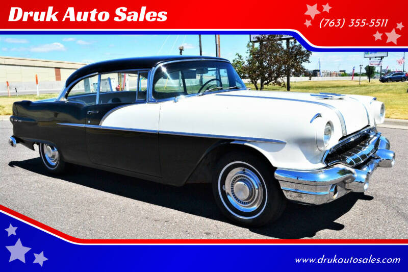 1956 Pontiac Chieftain for sale at Druk Auto Sales in Ramsey MN