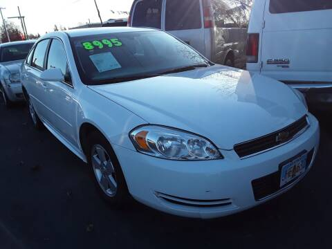 2011 Chevrolet Impala for sale at ALASKA PROFESSIONAL AUTO in Anchorage AK
