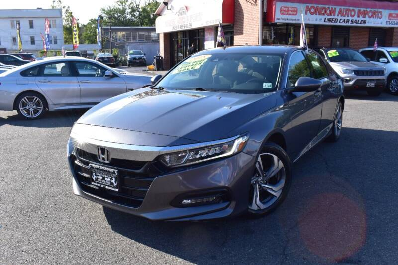 2018 Honda Accord for sale at Foreign Auto Imports in Irvington NJ