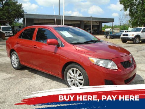 2009 Toyota Corolla for sale at J & F AUTO SALES in Houston TX