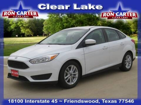 2018 Ford Focus for sale at Ron Carter  Clear Lake Used Cars in Houston TX