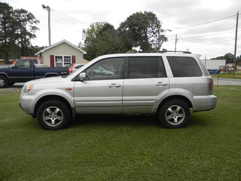 2007 Honda Pilot for sale at SeaCrest Sales, LLC in Elizabeth City NC