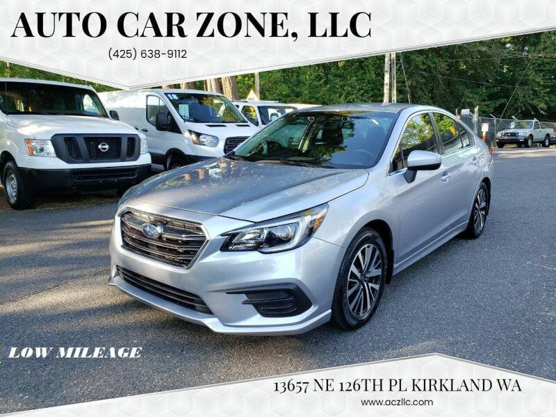 2019 Subaru Legacy for sale at Auto Car Zone, LLC in Kirkland WA