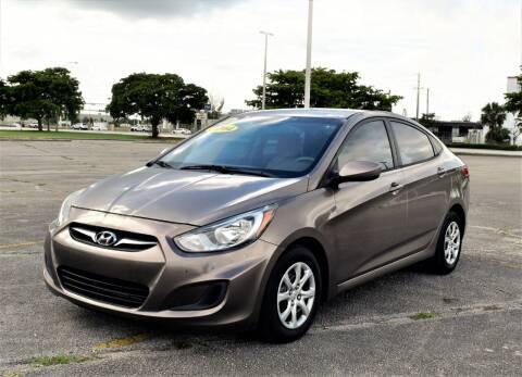 2014 Hyundai Accent for sale at Ven-Usa Autosales Inc in Miami FL